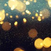 Blurred glitter lights wallpaper